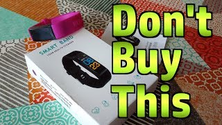 Xanes B05 Fitness Band - Unboxing and First Impressions - Don't Buy This