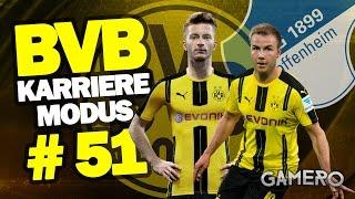 FIFA 17 KARRIEREMODUS BVB #51 ♕ BUNDESLIGA gegen TSG HOFFENHEIM  ♕ FIFA 17 Karrieremodus Deutsch