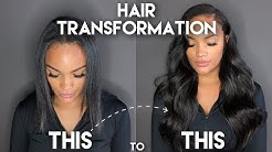 HAIR TRANSFORMATION VLOG | MY I-TIP EXTENSIONS | ALLYIAHSFACE | BEAUTYFOREVER