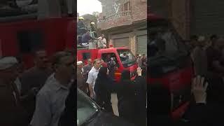 جنازة عسكرية لشهيد الإسماعيلية بمسقط رأسه بنفيشة