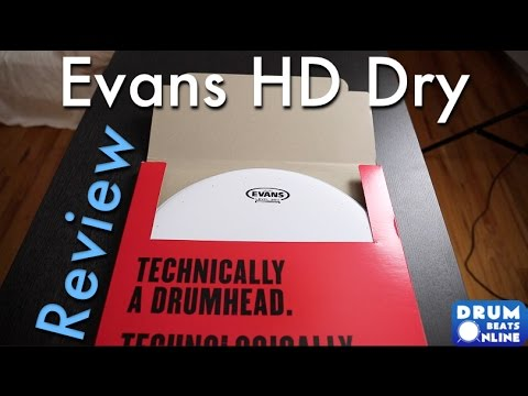 Evans Genera HD Dry Snare Head - Gear Review | Drum Beats Online
