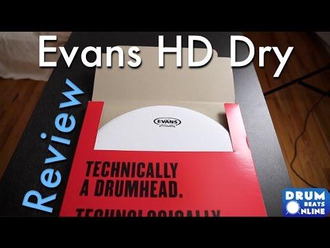 evans genera hd dry snare head gear review drum beats online youtube. Black Bedroom Furniture Sets. Home Design Ideas