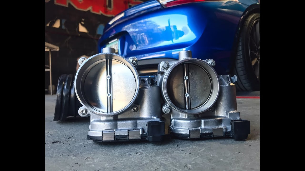 82mm Thorttlebody 3.4L IPD 82mm Competition Plenum for 987.2 PorscheCayman S//R and Boxster S