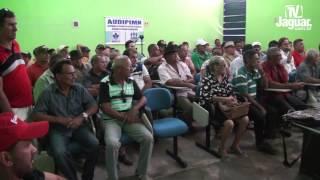 Aldizio Girão faz um relato da situação do perímetro irrigado Morada Nova Limoeiro