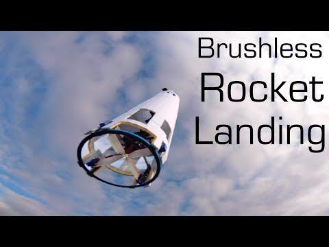 Brushless R/C ROCKET Vertical Landing SpaceX Style - RCTESTFLIGHT