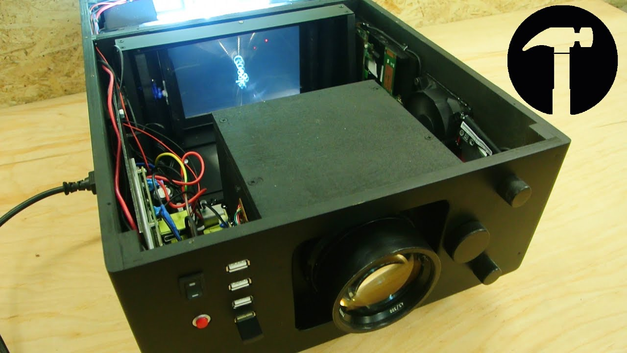DIY PROJECTOR Full HD (finish)