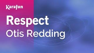 Karaoke Respect - Otis Redding *
