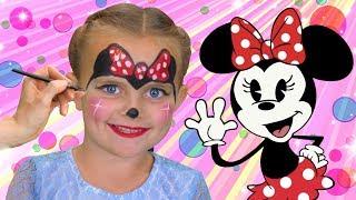 Minnie Mouse Face Paint | FunPop!