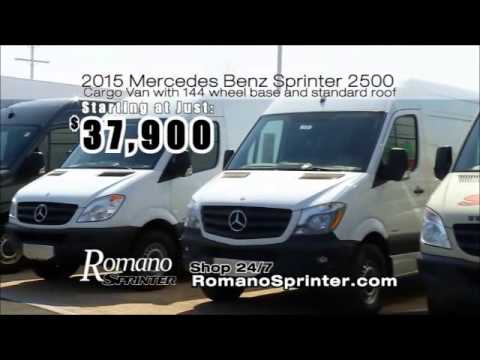 Romano sprinter edward joy electric testimonial youtube for Romano mercedes benz