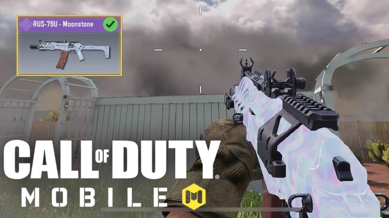 "*NEW* FREE RUS-79U ""Moonstone"" Unlocked! + Gameplay in Call of Duty Mobile!"
