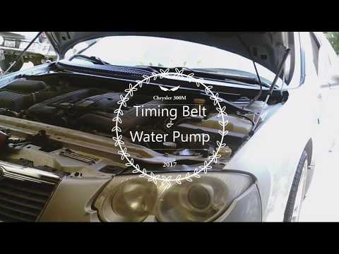 Chrysler 300M Timing Belt and Water Pump Replacement