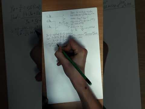 """Расчет трехфазных электрических цепей по схеме """"звезда"""" с расчетом баланса мощностей"""