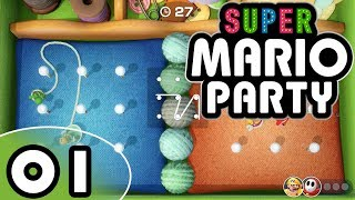 Super Mario Party - Part 1 (4-Player)