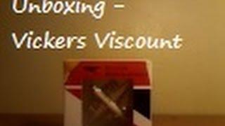 Unboxing - Inflight 500 1:500 BA Vickers Viscount 800