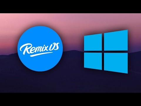 Install Remix OS Player | Run Remix OS on Windows