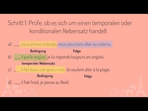 bedingungssätze französisch