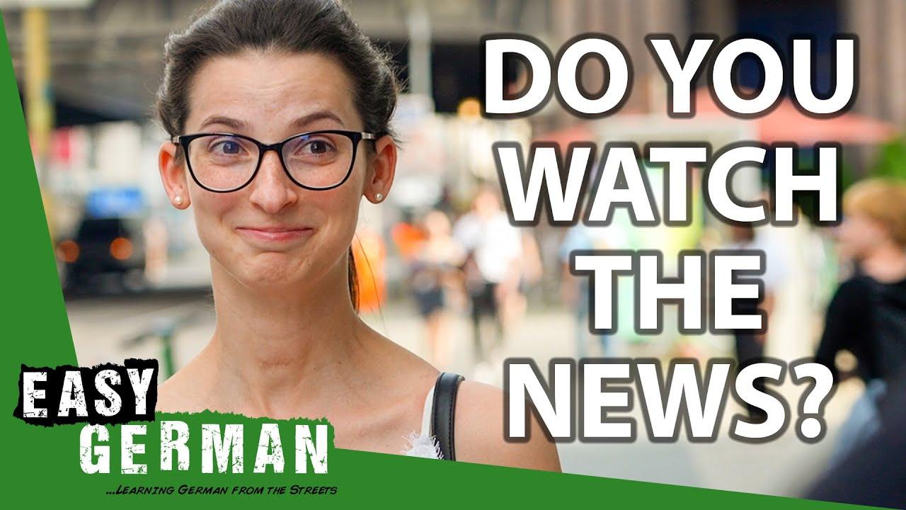 How Germans Get Their News | Easy German 405