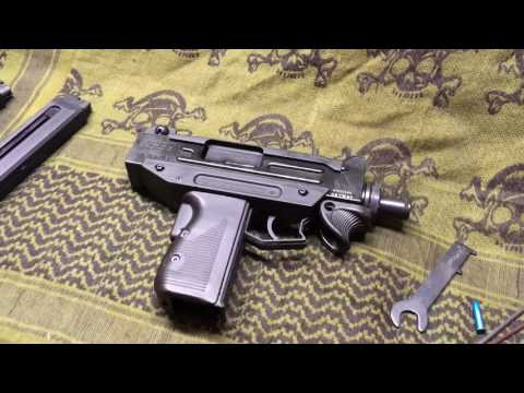 IWI/Walther .22LR Uzi Pistol Review