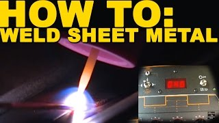 🔥 Welding Mild Steel Sheet Metal | TIG Time