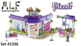 Lego Friends 41336 Emma´s Art Cafe - Lego Speed Build Review