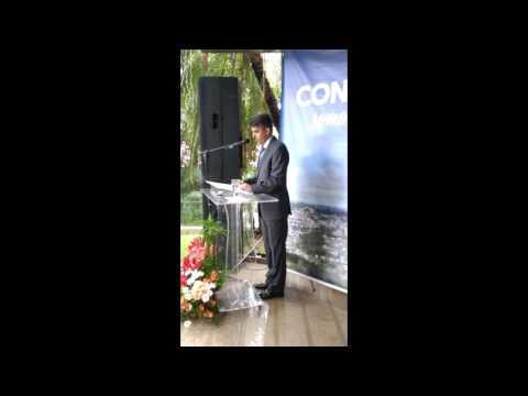 Rogério Pacheco Em Seu Primeiro Discurso Como Prefeito De Concórdia.