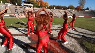 2014 WSSU Cheerleaders Last Home Game Victory Circle