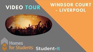 Windsor Court - Homes For Students - Student Accommodation Tour - Liverpool