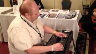 Ronnie Miller Warming Up For The 2012 Texas Steel Guitar Jamboree