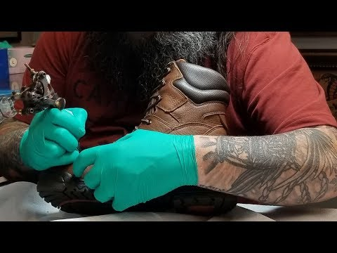 Timberland PRO boots get tattoo