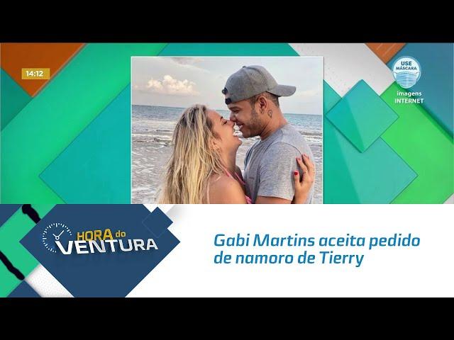 Agora é oficial: Gabi Martins aceita pedido de namoro de Tierry