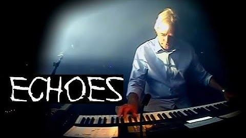"""Final """"Echoes""""performance with Richard Wright (Pink Floyd)"""