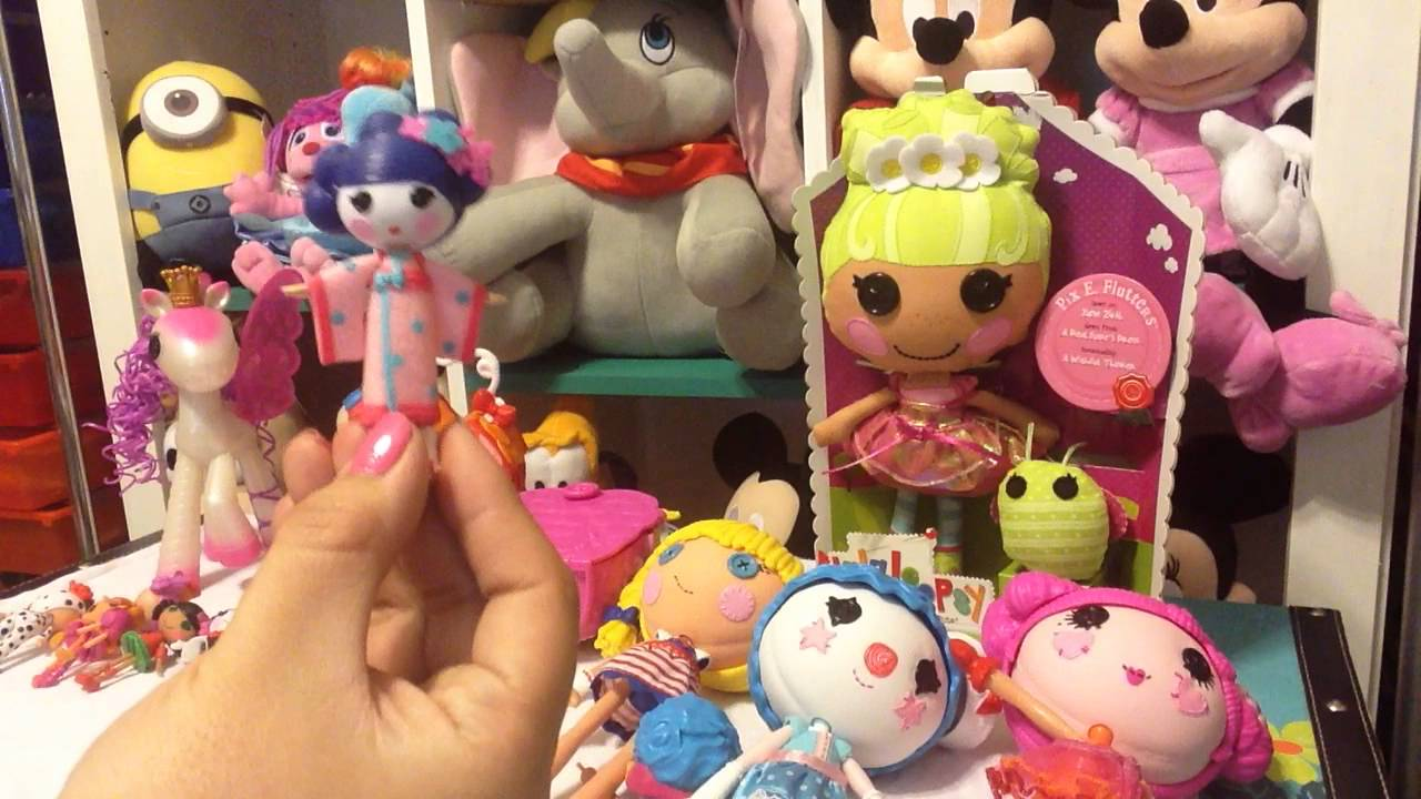 Great Disney Lalaloopsy Mini Houses, Mini Dolls And Exchangeable / Detachable  Lalaloopsy Dolls