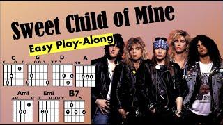 Sweet Child of Mine (Guns n Roses) Chord and Lyrics Play-Along