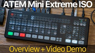 Blackmagic ATEM Mini Extreme ISO: Overview and Live Demo