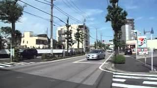 足立区 五兵衛新橋 付近 車の往来.
