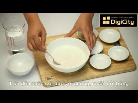 Cách làm nước cốt dừa đơn giản mà vệ sinh