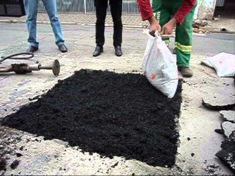 asphaltes cass e asphalte froid sac youtube. Black Bedroom Furniture Sets. Home Design Ideas
