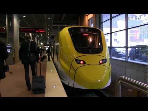 Trains: Sweden, Stockholm central station, Arlanda Express