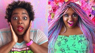 Watch Me Transform | Opal Mermaid Box Braids