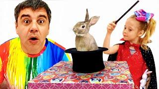 Nastya und Papa, Zaubertricks für Kinder