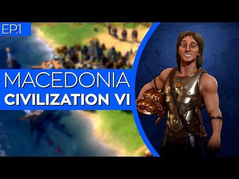 [UNCUT] Civilization 6 w/ Mods - Macedonia | Alexander (ep.1)