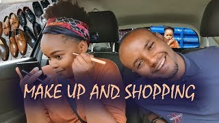 MAKE UP IN THE CAR CHALLENGE + SHOPPING AT EASTLEIGH