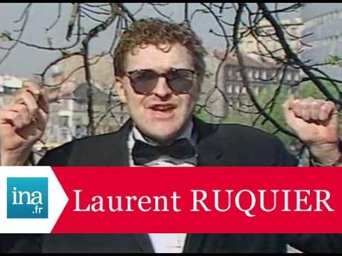 La première télé de Laurent Ruquier - Archive INA
