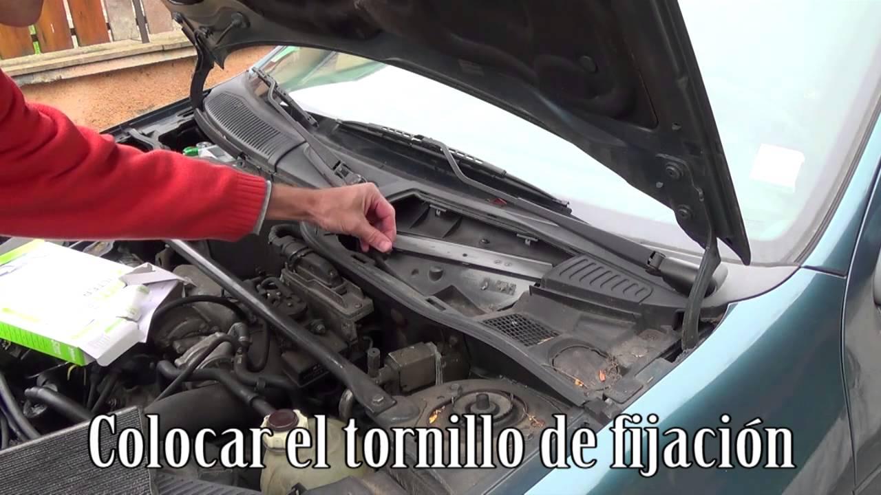 Cambio De Filtro Habit 225 Culo Polen Paso A Paso Youtube