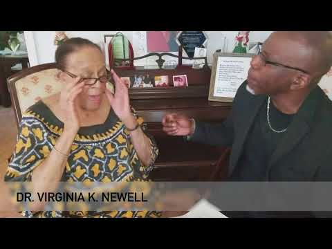 Busta Brown interviews 100-year-old Dr. Virginia Newell for The Chronicle