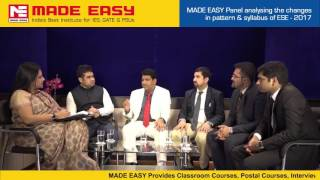 Revised ESE 2017 : New Scheme & Pattern of UPSC Engineering Services Exam(IES) by MADE EASY experts