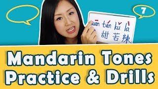 Learn Chinese Tones: Practice Mandarin Tones with 酸甜苦辣 | Yoyo Chinese Tone Practice