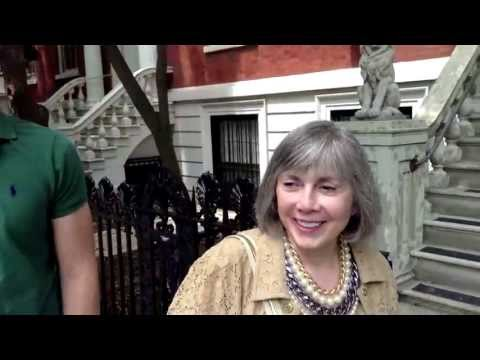 Anne Rice and Christopher Rice in Washington Square