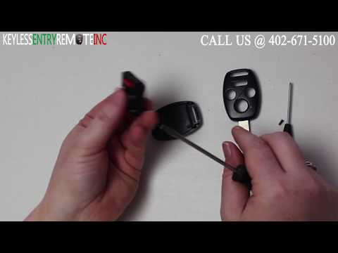 How To Replace A 2009 - 2015 Honda Pilot Key Fob Battery