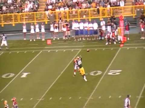 Aaron rodgers first touchdown pass